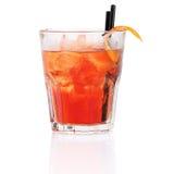 Cocktail di Negroni Fotografia Stock