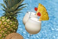 Cocktail di Pina Colada Fotografie Stock Libere da Diritti