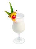 Cocktail di Pina Colada Immagini Stock Libere da Diritti