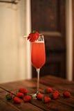 Cocktail di Rossini Fotografia Stock Libera da Diritti