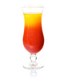 Cocktail di rum tropicale immagine stock libera da diritti