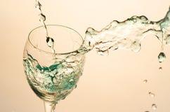 Cocktail di vetro di aclohol del partito Immagine Stock