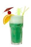 Cocktail die op wit wordt geïsoleerdg Stock Fotografie