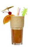 Cocktail die op wit wordt geïsoleerde Royalty-vrije Stock Fotografie
