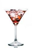 Cocktail die op witte achtergrond wordt geïsoleerde Stock Afbeeldingen