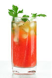 Cocktail do álcool de mary do sangue Fotografia de Stock