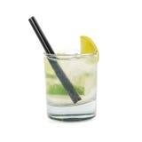 Cocktail do álcool de Mojito imagem de stock royalty free