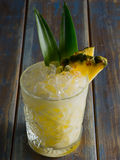 Cocktail do abacaxi Fotografia de Stock Royalty Free