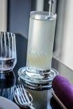 Cocktail do aperitivo do mocktail do amplificador do lichi Foto de Stock