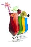 Cocktail do arco-íris Fotografia de Stock