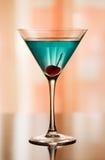 Cocktail do azul de Betty imagem de stock royalty free