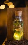 Cocktail do café do russo com limão Imagem de Stock Royalty Free