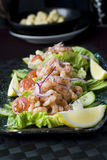 Cocktail do camarão Imagem de Stock