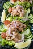 Cocktail do camarão Imagens de Stock