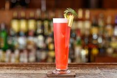 Cocktail do estilingue de Singapura fotos de stock