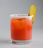 Cocktail do frio do suco de tomate Fotografia de Stock Royalty Free