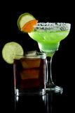 Cocktail do happy hour foto de stock royalty free