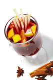 Cocktail do inverno - vinho Mulled Foto de Stock