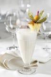 Cocktail do leite Fotografia de Stock