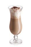 Cocktail do leite e do café fotografia de stock royalty free