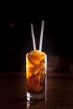 Cocktail do libre de Cuba em um vidro alto Imagens de Stock Royalty Free