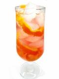 Cocktail do licor do álcool com laranja fotos de stock