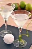 Cocktail do limão de Martini Fotografia de Stock