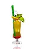 Cocktail do limão em um vidro Imagem de Stock Royalty Free