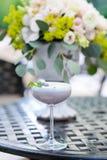 Cocktail do mirtilo Fotografia de Stock Royalty Free