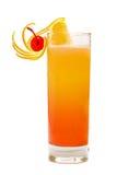 Cocktail do nascer do sol do Tequila imagens de stock
