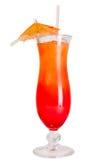 Cocktail do nascer do sol isolado Fotografia de Stock Royalty Free