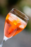 Cocktail do sprizz de Aperol foto de stock royalty free