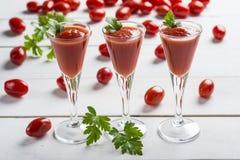 Cocktail do suco de tomate Imagens de Stock