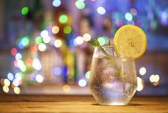 Cocktail do tônico da gim foto de stock royalty free