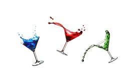 Cocktail do vôo imagens de stock royalty free