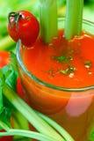Cocktail do vegetal da leiteria fotografia de stock