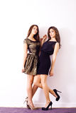 Cocktail dresses Royalty Free Stock Image