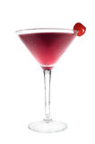 Cocktail drink with cherry Stock Image