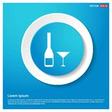 Cocktail drink icon. This Vector EPS 10 illustration is best for print media, web design, application design user interface and infographics with well royalty free illustration