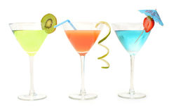Cocktail drinks royalty free stock photography