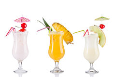 Cocktail drinks Royalty Free Stock Image
