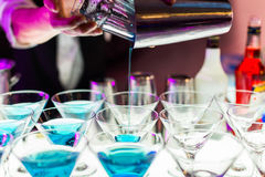 Cocktail drinks Stock Photos