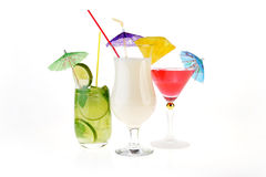 Cocktail drinks Stock Image