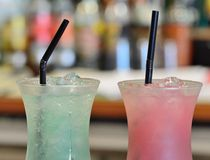 Cocktail drinks Royalty Free Stock Photo