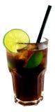 Cocktail du Cuba Libre Images stock