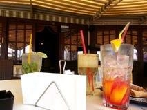 Cocktail e guardanapo Fotos de Stock