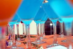 Cocktail e sonhos fotografia de stock