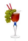 Cocktail em um vidro Fotografia de Stock
