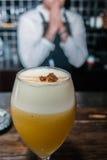 Cocktail em um vidro Fotografia de Stock Royalty Free