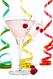 Cocktail en kers Royalty-vrije Stock Afbeelding